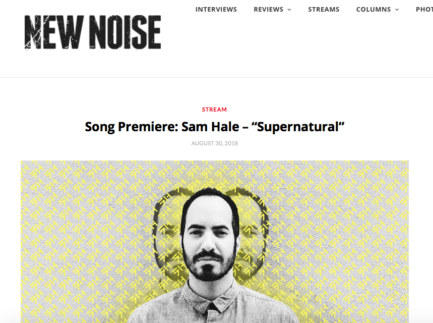 Sam Hale Supernatural premiere New Noise