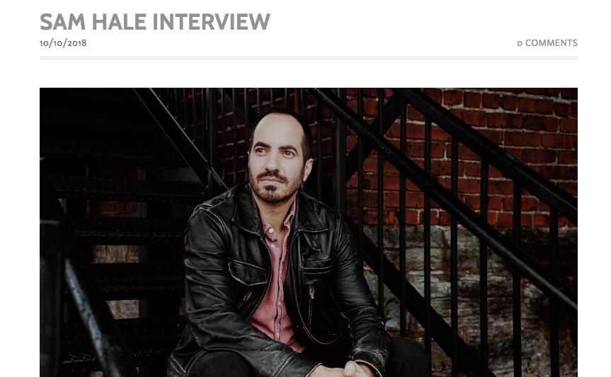 Sam Hale Live A Little Bit Louder interview