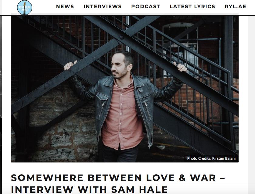 Sam Hale Rock Your Lyrics interview