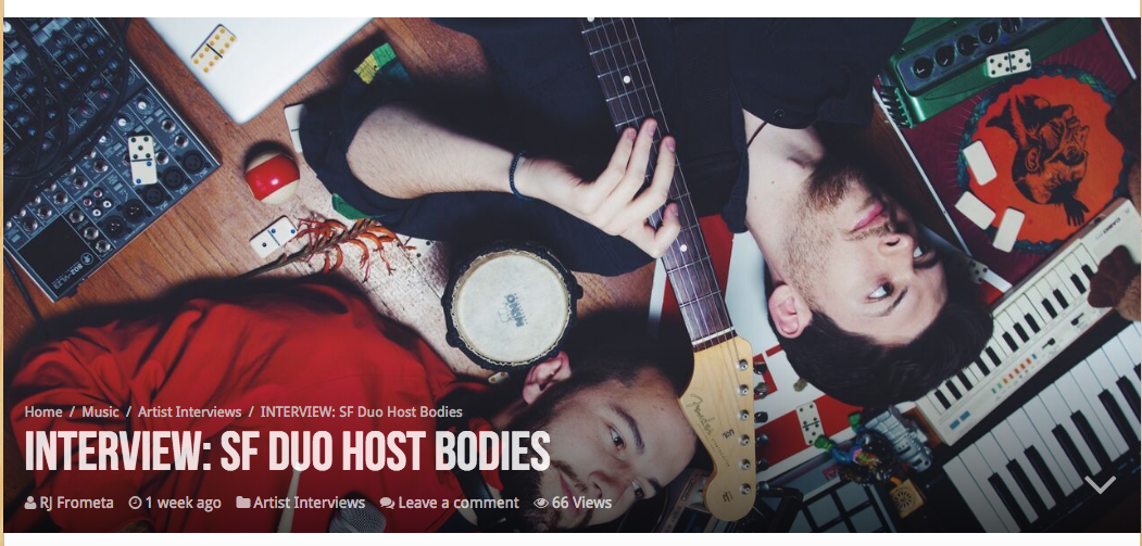 Host Bodies Vents Magazine interview