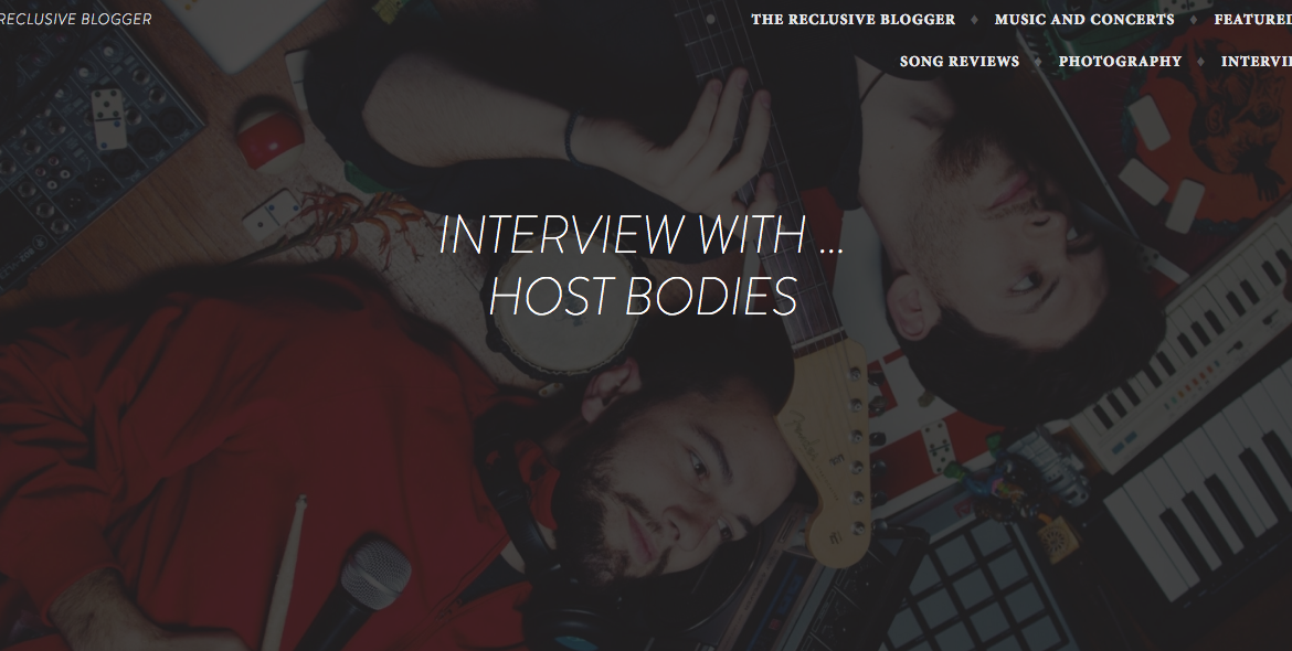 Host Bodies The Reclusive Blogger interview